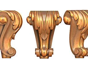 furniture leg 3D print model