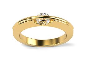 Liberte ring 3D printable model