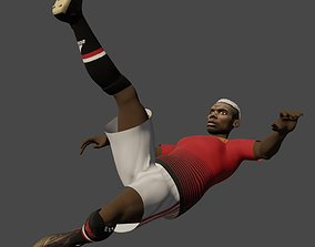 Pol Pogba 3D animated