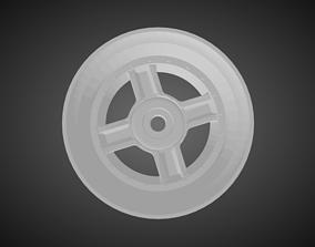 Rotiform RBQ rims for Hot Wheels 3D print