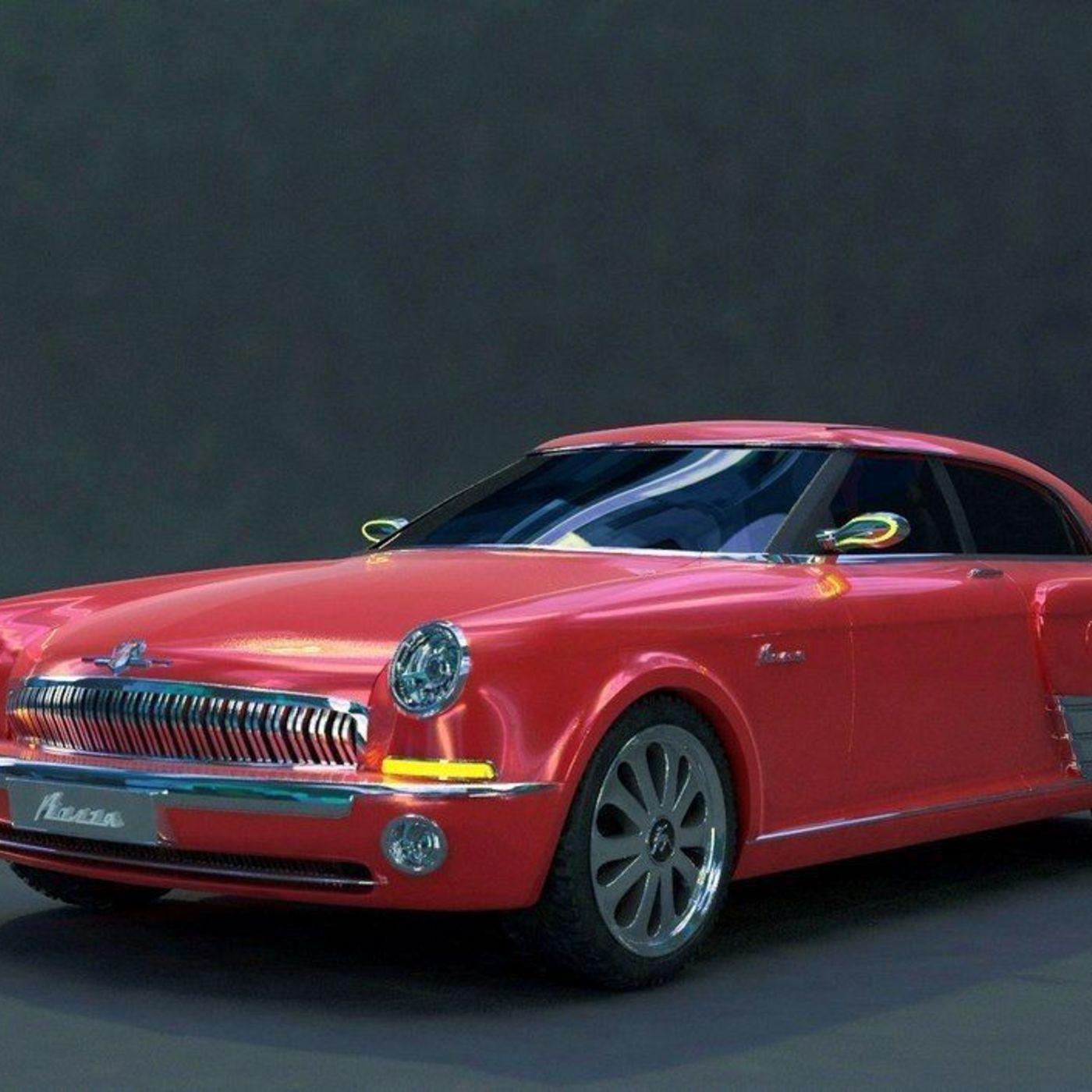 My 3D concept Volga GAZ 21