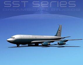 3D Boeing KC-135E Stratotanker LPSS V09