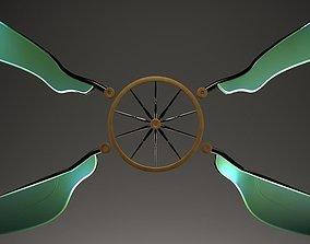 Spoke Dragonfly 3D model