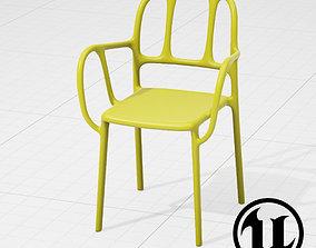 Magis Mila Chair UE4 3D asset