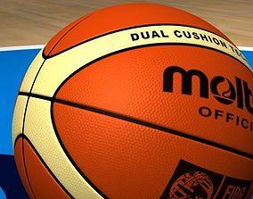 3D model sports molten basketball