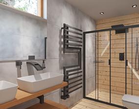 3D fixture Bathroom 01