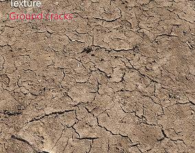 3D model Ultra realistic Ground cracks