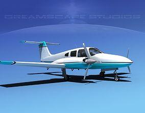 Piper PA-44-180 Seminole V08 3D model