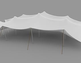 3D model Stretch Tent