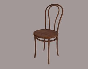 Vienna Dining Chair 3D model