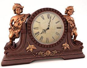 3D model Classic angel clock