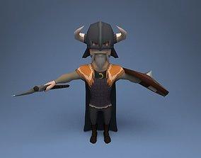 3D model Viking 02