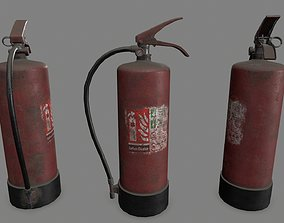 fire Fire Extinguisher 3D model VR / AR ready