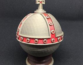 Monty Python Holy Hand Grenade of 3D printable model 2