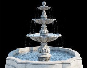 3D Classic fountain 01