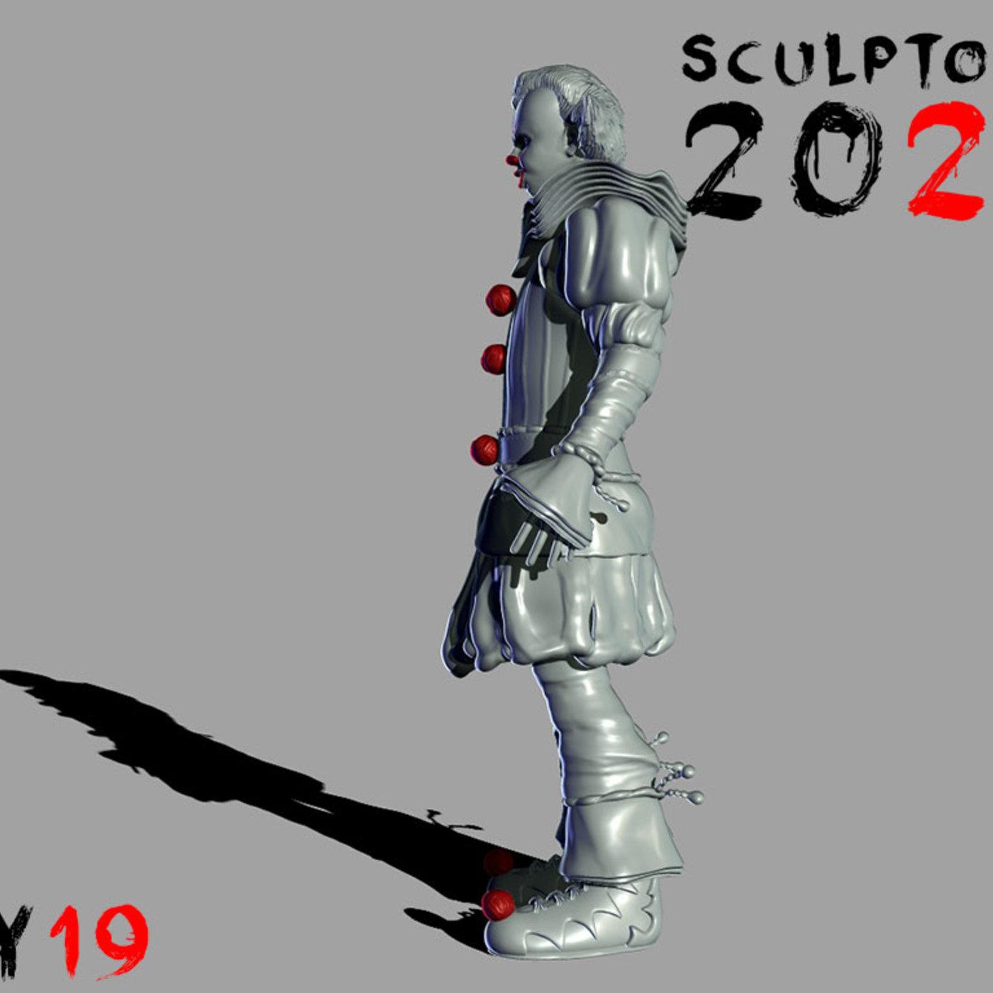 Sculptober 19 Float