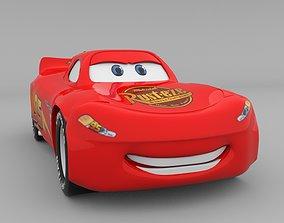 Lightning McQueen 3D model
