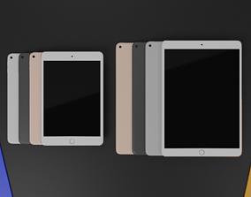 3D model iPad Mini 5 2019 And iPad Air 3 2019 All 2