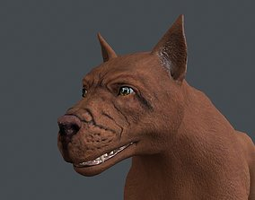 3D UVWD-025 Dog textures only