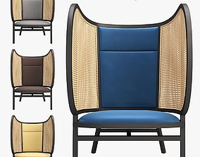 Hideout Lounge Chair terrace 3D