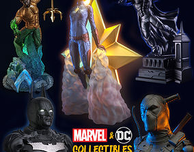 3D printable model DC-MARVEL COLLECTIBLE FIGURES