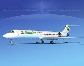 Boeing 717-200 Bulgarian 3D model