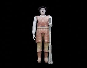 estatua Borba Gato 3D