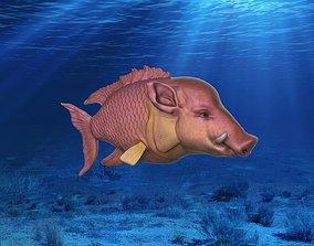 3D print model Hogfish Ocean Bacon