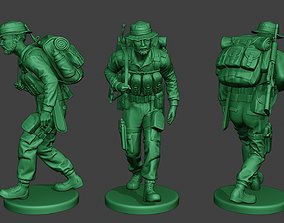 Modern Jungle Soldier Walk4 MJS1 3D printable model