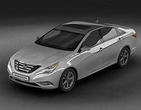 2011 Hyundai Sonata 3D model