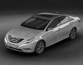 2011 Hyundai Sonata 3D model