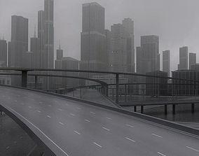 3D model Freeway03 City