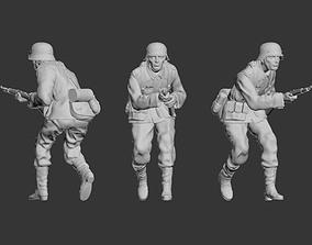 officer German soldier 3D print model