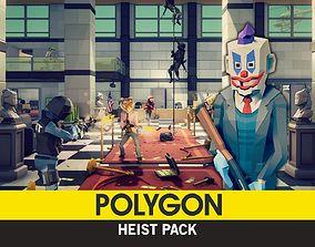 3D asset POLYGON - Heist Pack