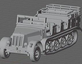 3D printable model Sd Kfz 7 German Halftrack for Wargame