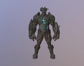 Earth Golem Elemental 3D model