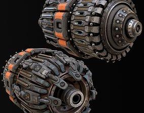 Sci-FI piece 3D