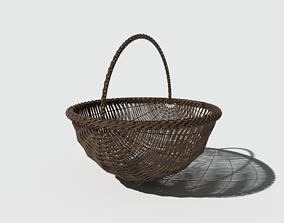 PBR Basket Round Bottom 3D model