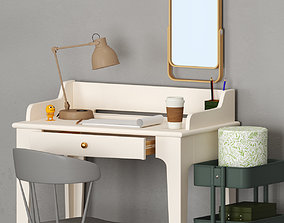 IKEA WORKING TABLE set 3D
