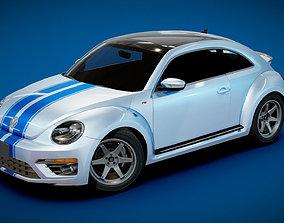 3D asset VW Beetle Turbo 2015