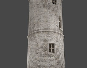 3D asset Medieval tower game ready
