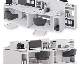 Office workspace LAS LOGIC v11 3D
