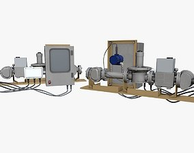 Electricity Generator Model 3D