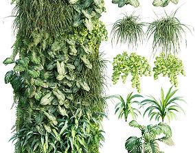 Verticalgarden - Green wall 12 3D