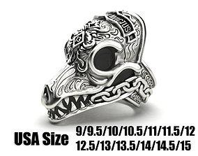 3D printable model MORIOR INVICTUS Ring Many sizes