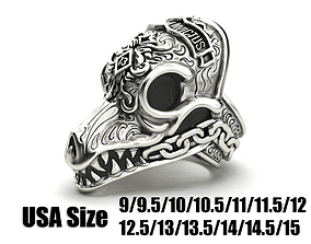3D print model MORIOR INVICTUS Ring Many sizes