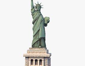 nyc 3D Statue of Liberty USA