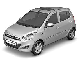 2011 Hyundai i10 3D model