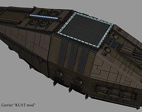 3D Imperial Escort Carrier KUAT mod