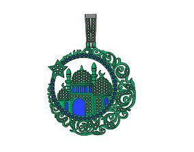 masjid muslim 3D printable model